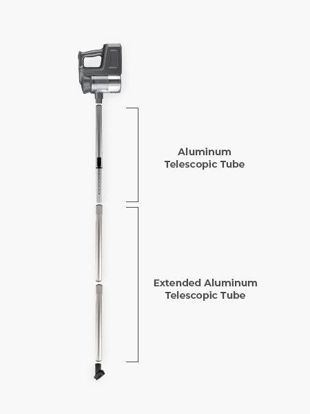 Vacuum Cleaner Accessories- Extended Aluminium Tube
